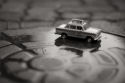 Vitor Sa Photography,Tiny taxi series,black and white art photography, fine art photographer,fine-art-photography-inspirations.com
